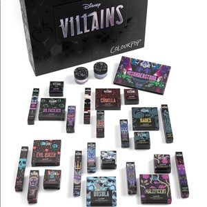 Colourpop Disney Villains PR Box